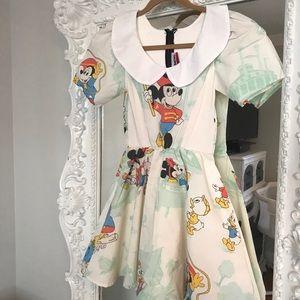 MICKEY MOUSE Peter Pan Collar Dress